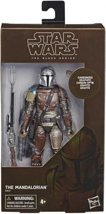 Star Wars The Black Series The Mandalorian Carbonised Special Edition - Instock